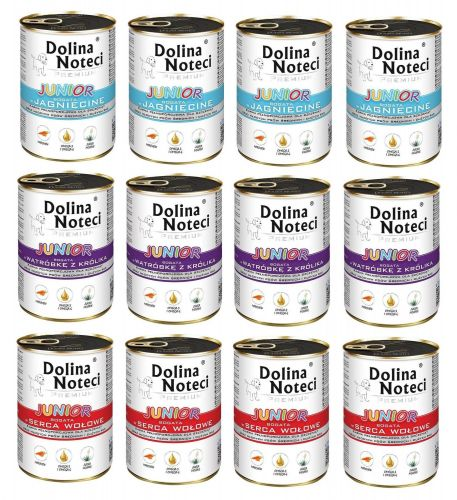 Dolina Noteci Premium Junior mix 12 x 400g